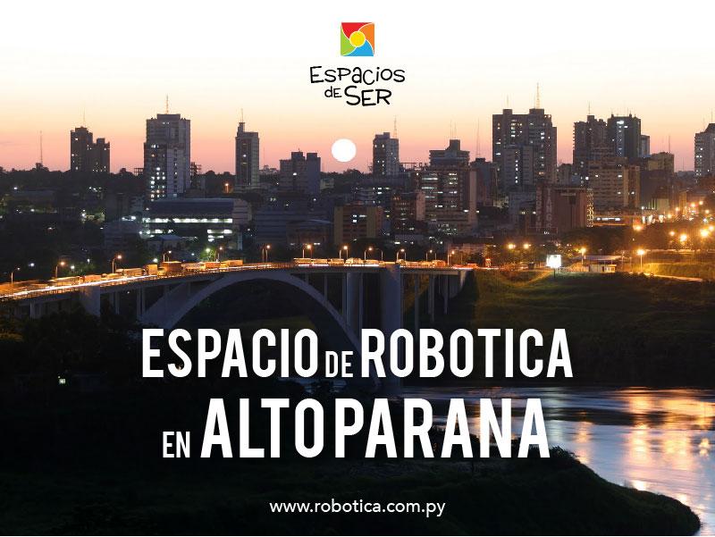 robotica educativa en alto paraná