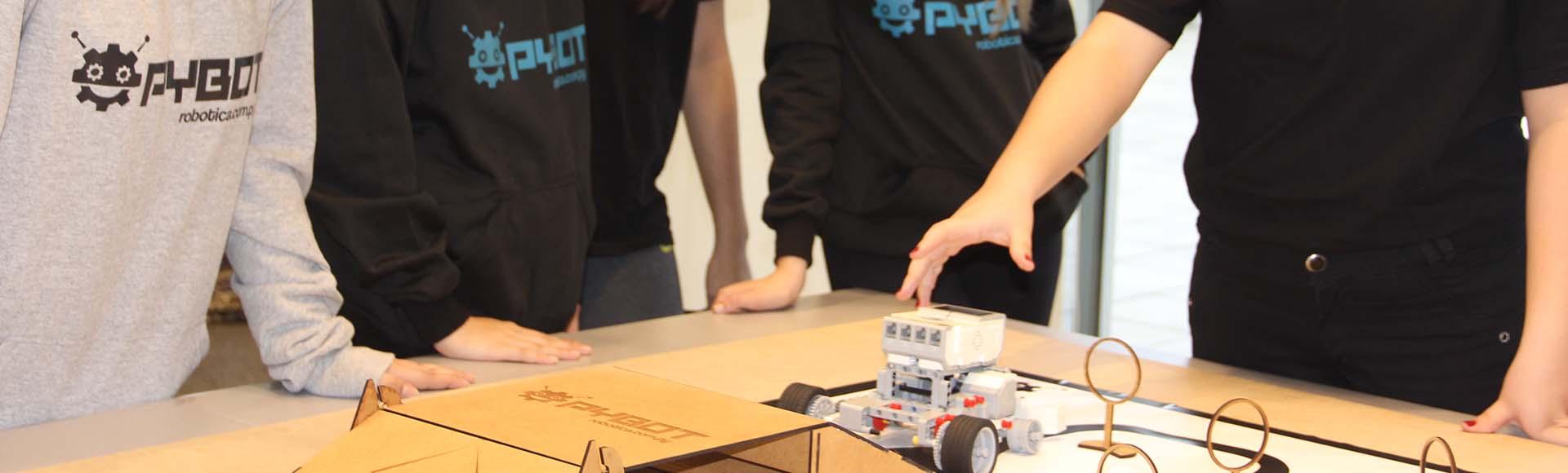 3, 2, 1... ¡PYBOT! El torneo de robótica que te desafía de nuevo